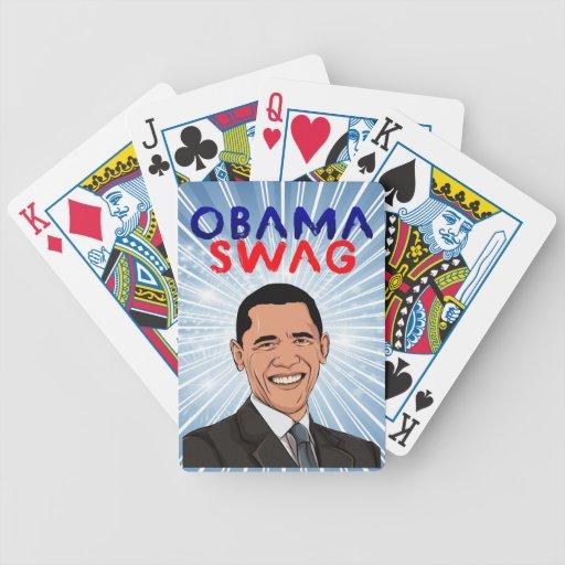 Engranaje del Swag de Obama Baraja De Cartas