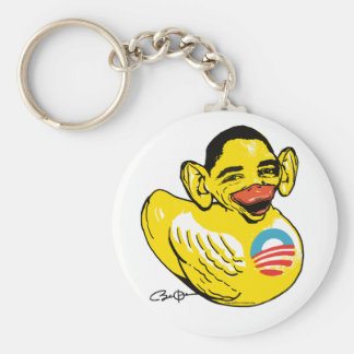 Engranaje divertido de Potus Obama del presidente  Llavero Redondo Tipo Pin