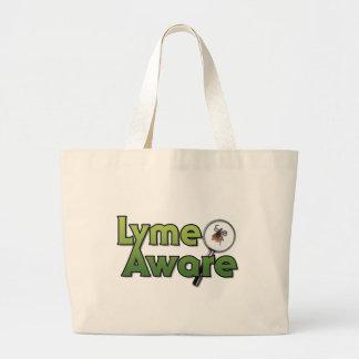 Engranaje enterado de Lyme Bolsa Tela Grande