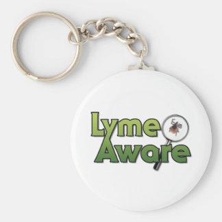 Engranaje enterado de Lyme Llavero Redondo Tipo Pin