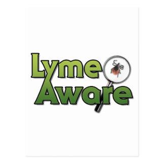 Engranaje enterado de Lyme Tarjeta Postal