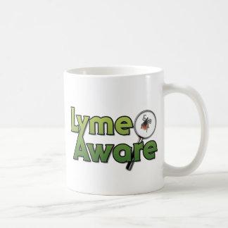 Engranaje enterado de Lyme Taza Clásica