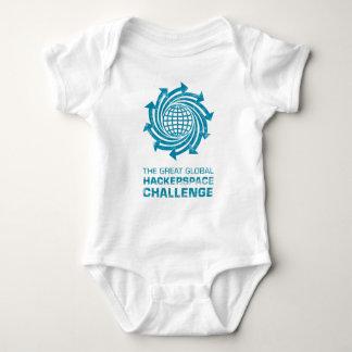 Engranaje global de Hackerspace Mameluco De Bebé