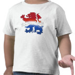 Engranaje holandés de la bandera del león holandés camiseta