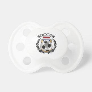Engranaje holandés de la fan del fútbol 2016 chupetes de bebe