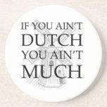 Engranaje holandés del orgullo posavasos diseño