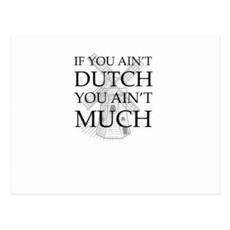 Engranaje holandés del orgullo postal