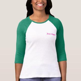 ENGRANAJE LIBRE del AGENTE de $, mujer, verde, Camisetas