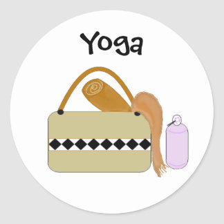 Engranaje lindo de la yoga pegatinas