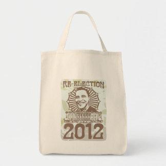 Engranaje maravilloso de la reelección 2012 de Oba Bolsas De Mano