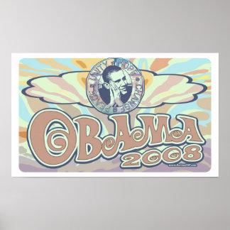 Engranaje maravilloso de Obama 2008 Poster