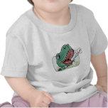 Engranaje más viejo grande de Lil T Rex Bro Brothe Camisetas