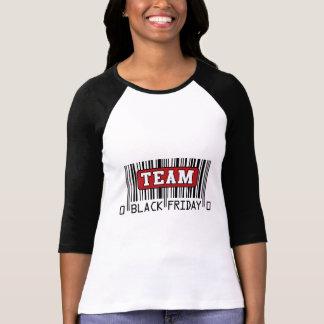 Engranaje negro de la venta de viernes camiseta