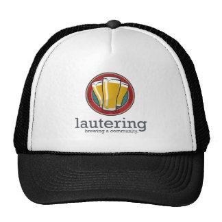 Engranaje oficial de Lautering - frente del logoti Gorro