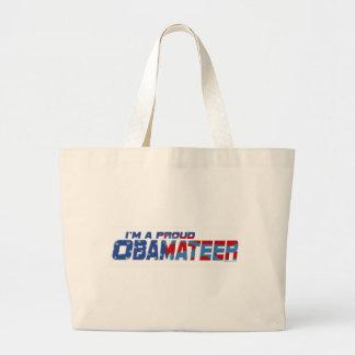 Engranaje orgulloso de Obamateer Bolsas Lienzo