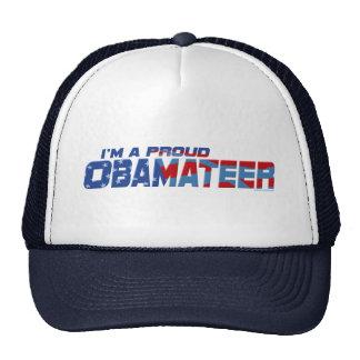 Engranaje orgulloso de Obamateer Gorras De Camionero