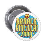 Engranaje político del superhéroe de Barack Améric Pin
