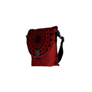 Engranaje rojo bolsas de mensajeria