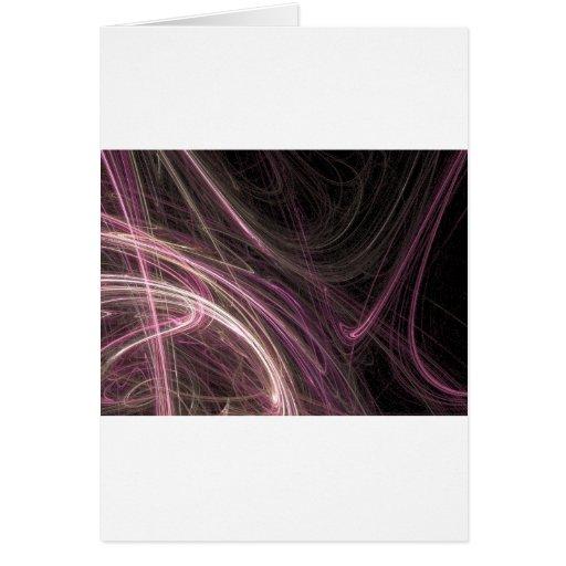 Engranaje rosado de Halima Ahkdar del extracto del Felicitación