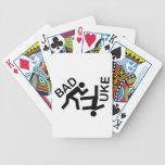 Engranaje temático del judo baraja cartas de poker