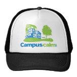 Engranaje tranquilo del logotipo del campus gorra