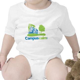 Engranaje tranquilo del logotipo del campus camisetas