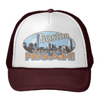Engranaje travieso de Boston Pissah por los estudi Gorros Bordados