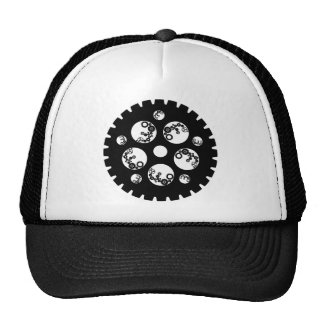 Engranaje Worx - todo negro Gorro De Camionero