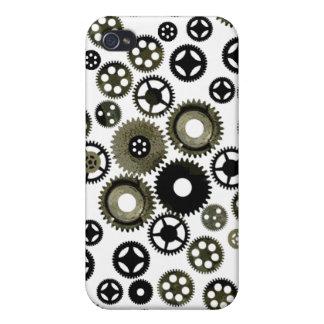 Engranajes a montones iPhone 4 funda