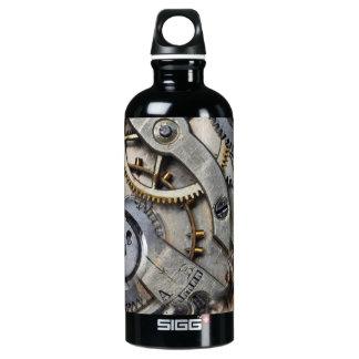 engranajes botella de agua