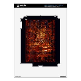 Engranajes coronarios del mecanismo de Steampunk Pegatinas Skins Para iPad 3