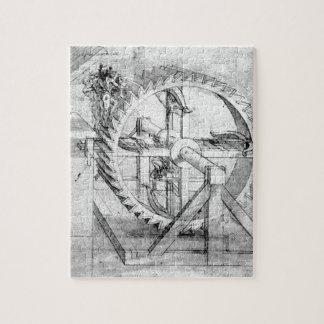 Engranajes de Leonardo Rompecabeza