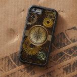 Engranajes de Steampunk en diseño geométrico de la Funda De iPhone 6 Tough Xtreme