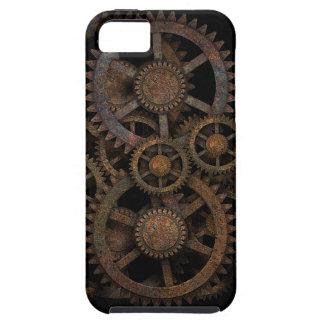 Engranajes de Steampunk iPhone 5 Case-Mate Coberturas