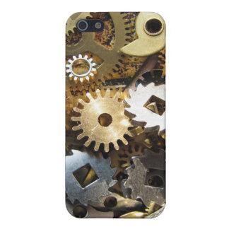 Engranajes del mecanismo de Steampunk iPhone 5 Carcasas