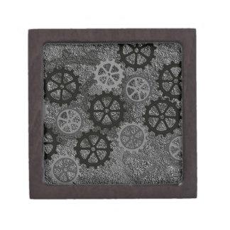 Engranajes del metal cajas de regalo de calidad