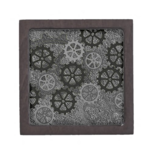 Engranajes del metal cajas de recuerdo de calidad