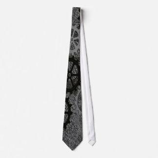 Engranajes del metal corbata personalizada