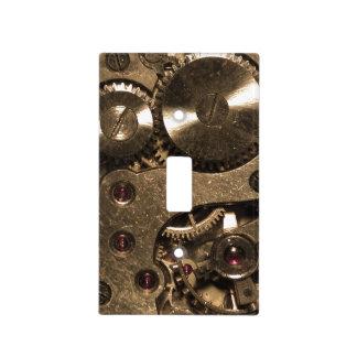 Engranajes del metal de Steampunk Cubiertas Para Interruptor