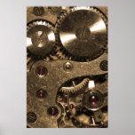 Engranajes del metal de Steampunk Impresiones