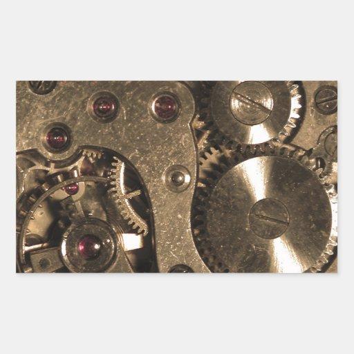 Engranajes del metal de Steampunk Rectangular Altavoz