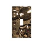 Engranajes del metal de Steampunk Placas Para Interruptor