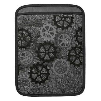 Engranajes del metal fundas para iPads