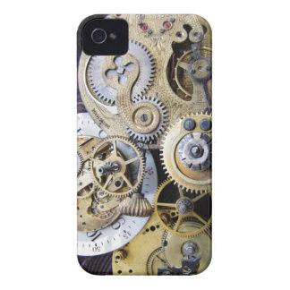 Engranajes del reloj de bolsillo del vintage para carcasa para iPhone 4 de Case-Mate
