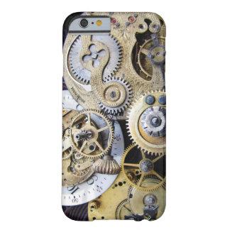 Engranajes del reloj de bolsillo del vintage para funda barely there iPhone 6