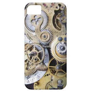 Engranajes del reloj de bolsillo del vintage para iPhone 5 funda