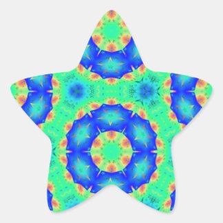 Engranajes en colores pastel resized PNG del arco Calcomanía Cuadrada