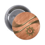 Engranajes en el cobre pin