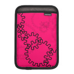 Engranajes en rosas fuertes fundas de iPad mini