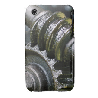 Engranajes grasientos iPhone 3 Case-Mate cárcasa
